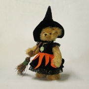 Little WitchTeddy Bear by HERMANN-Coburg