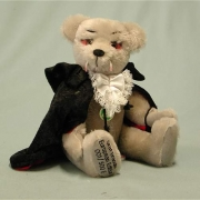 Graf Dracula Teddy Bear by HERMANN-Coburg