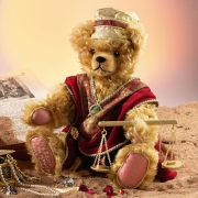 King Solomon Teddy Bear by Hermann-Coburg