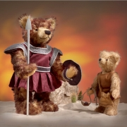 David and Goliath  Teddy Bear by Hermann-Coburg