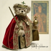 Charlemagne Teddy Bear by Hermann-Coburg