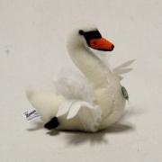 Mohair Swan Lohengrin 15 cm Teddy Bear by Hermann-Coburg
