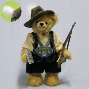 Bavarian Marksmens King 36 cm Teddy Bear by Hermann-Coburg