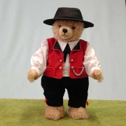 Schwarzwaldjunge Black Forest Boy  Teddy Bear by Hermann-Coburg