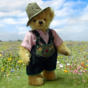 Wiesn-Sepp Oktoberfest Teddy BearTeddy Bear by Hermann-Coburg