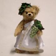 Weingott Bacchus 34 cm Teddybär von Hermann-Coburg