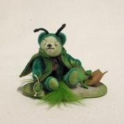 Kleine Reblaus 14 cm Teddybär von Hermann-Coburg