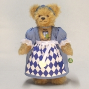 Bayerische Bierkönigin 37 cm Teddy Bear by Hermann-Coburg