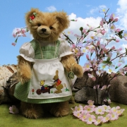 Sweet Easter Girl Pauline 35 cm Teddy Bear by Hermann-Coburg