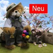 Klingelingeling der Eiermann 36 cm Teddybär von Hermann-Coburg