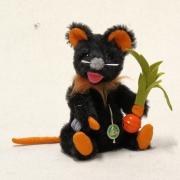 Eine kleine Halloween Maus 19 cm  von Hermann-Coburg