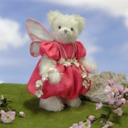 Cherry Blossom Fairy Teddy Bear by Hermann-Coburg