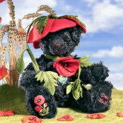 Poppy Bear Teddy Bear by Hermann-Coburg