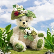 Maiglöckchen - Lily of the Valley Teddy Bear by Hermann-Coburg
