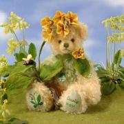 Schlüsselblume - Cowslip Teddybär von Hermann-Coburg