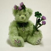 Red Clover Teddy Bear by Hermann-Coburg
