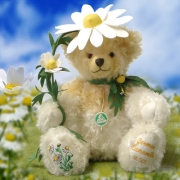 German Camomile - Echte Kamille Teddy Bear by Hermann-Coburg