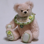 Kleiner Poesie Bär  (gelb) 34 cm Teddybär von Hermann-Coburg