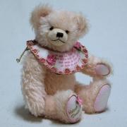 Kleiner Poesie Bär (rosa) 34 cm Teddybär von Hermann-Coburg
