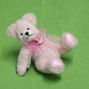 Flower of my Heart 19 cm Teddy Bear by Hermann-Coburg