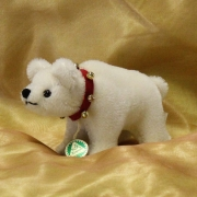 Classic Miniatur Eisbär Polar Teddy Bear by Hermann-Coburg