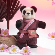 Miniatur Steh-Panda Teddy Bear by Hermann-Coburg
