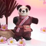 Miniatur Steh-Panda Teddybär von Hermann-Coburg