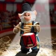 Miniatur Steh-Affe  Teddybär von Hermann-Coburg