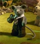 Miniatur Steh-Maus, Knuspermäuschen Teddy Bear by Hermann-Coburg
