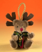 Rudolf Reindeer Teddy Bear by Hermann-Coburg