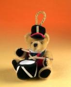 Kleiner Mini-Trommler Teddy Bear by Hermann-Coburg