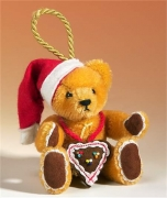 Gingerbread Santa Teddy Bear by Hermann-Coburg