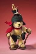 Schneeschuhwanderer Teddybär von Hermann-Coburg