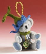 Blue Bell Teddy Bear by Hermann-Coburg