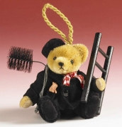 Lucky Chimney Sweep Teddy Bear by Hermann-Coburg