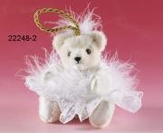 Schneeflöckchen Teddybär von Hermann-Coburg