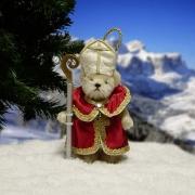 Heiliger Sankt Nikolaus Teddy Bear by Hermann-Coburg