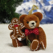 Lebkuchenmännchen Teddy Bear by Hermann-Coburg