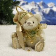 White Christmas Teddybär von Hermann-Coburg
