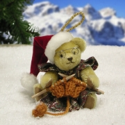 Mrs. Santa Teddy Bear by Hermann-Coburg