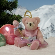 Zuckerpüppchen Candy mit Lolli Teddy Bear by Hermann-Coburg