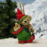 Weihnachtswichtl   Teddybär von Hermann-Coburg