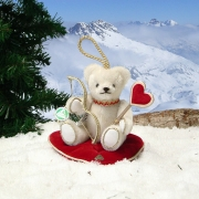 Liebesbote Amor 12,5 cm Teddybär von Hermann-Coburg
