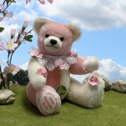 Little Cherry Blossom 29 cm Teddy Bear by Hermann-Coburg