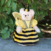 The Queen Bee 32 cm Teddy Bear by Hermann-Coburg