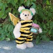 Bumblebee Henry 33 cm Teddy Bear by Hermann-Coburg