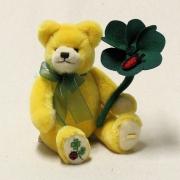 Mein Glücksbärchen für 2018 24 cm Teddybär von Hermann-Coburg