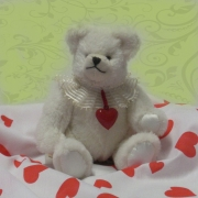 Little Valentine 22 cm Teddy Bear by Hermann-Coburg