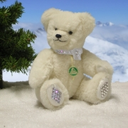 Little Snow Crystal Teddy Bear by Hermann-Coburg