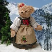 Weihnachts-Sophie 36 cm Teddybär von Hermann-Coburg